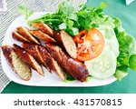 Thai Spicy Sausage Asgaew With...