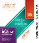 professional business design... | Shutterstock .eps vector #431582545