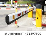 Small photo of Parking barrier and CCTV access control for Security