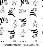 abstract floral elements pattern | Shutterstock .eps vector #431636878