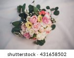 wonderful luxury wedding...   Shutterstock . vector #431658502