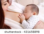 six months old baby boy...   Shutterstock . vector #431658898