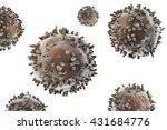 lymphocytes. immune cells... | Shutterstock . vector #431684776