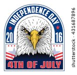 4th of july independence day is ... | Shutterstock .eps vector #431687896