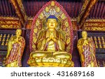 The Golden Statue Of The Buddha ...