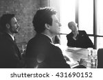 business people meeting... | Shutterstock . vector #431690152