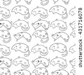 vector seamless pattern with... | Shutterstock .eps vector #431716078
