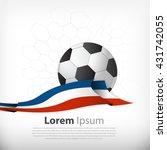 france  football wallpaper and... | Shutterstock .eps vector #431742055