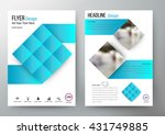 flyer design layout template... | Shutterstock .eps vector #431749885