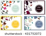 furniture sale advertisement... | Shutterstock .eps vector #431752072