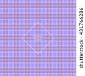 Plaid Fabric Cage Back Pattern...