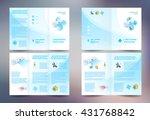 business brochure design...   Shutterstock .eps vector #431768842