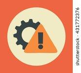 repair icon. cogwheel sign of...