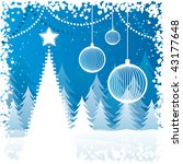 background for new year and for ... | Shutterstock .eps vector #43177648