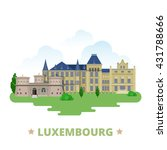 luxembourg country magnet... | Shutterstock .eps vector #431788666
