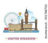 united kingdom design template. ... | Shutterstock .eps vector #431788702