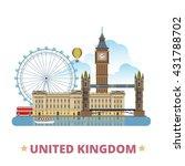 united kingdom design template. ... | Shutterstock .eps vector #431788702