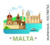 malta country design template....