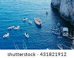 Capri Island  Anacpari   Blue...