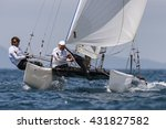 punta ala   3 june  second day... | Shutterstock . vector #431827582