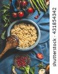 vegetarian quinoa dish with...