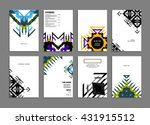 abstract background. geometric... | Shutterstock .eps vector #431915512