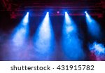 projector lights during... | Shutterstock . vector #431915782