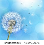trendy nature light blue... | Shutterstock .eps vector #431932078