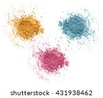 mineral cosmetics set isolated... | Shutterstock . vector #431938462