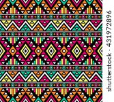 bright colored seamless pattern ... | Shutterstock .eps vector #431972896