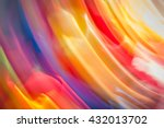 colorful abstract light vivid... | Shutterstock . vector #432013702