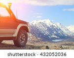 off road travel on mountain... | Shutterstock . vector #432052036