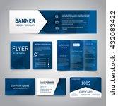 banner  flyers  brochure ... | Shutterstock .eps vector #432083422