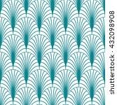vector seamless pattern.... | Shutterstock .eps vector #432098908