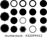set shape. | Shutterstock .eps vector #432099412
