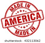 made in america stamp | Shutterstock .eps vector #432113062