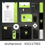stationery design   identity... | Shutterstock .eps vector #432117502