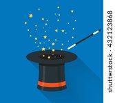 abracadabra cartoon concept.... | Shutterstock .eps vector #432123868