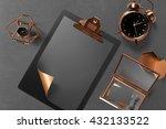 branding stationery mockup... | Shutterstock . vector #432133522