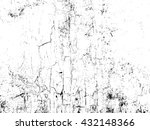 cracked and peeling paint on... | Shutterstock .eps vector #432148366