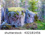 Boulders In The Forest Woods ...