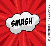 smash template colorful speech...   Shutterstock .eps vector #432214432