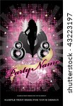 party flyer. to see other... | Shutterstock .eps vector #43223197