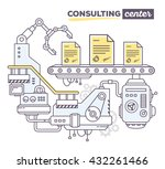 vector illustration of creative ... | Shutterstock .eps vector #432261466