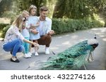 family spending day at the zoo | Shutterstock . vector #432274126