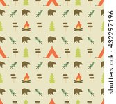 Camping Elements Pattern....