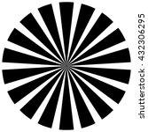 burst  beams  rays | Shutterstock .eps vector #432306295