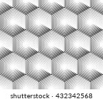 cellular geometric pattern ... | Shutterstock .eps vector #432342568