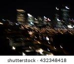 night city life | Shutterstock . vector #432348418