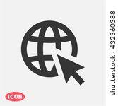 go to web . vector icon 10 eps | Shutterstock .eps vector #432360388